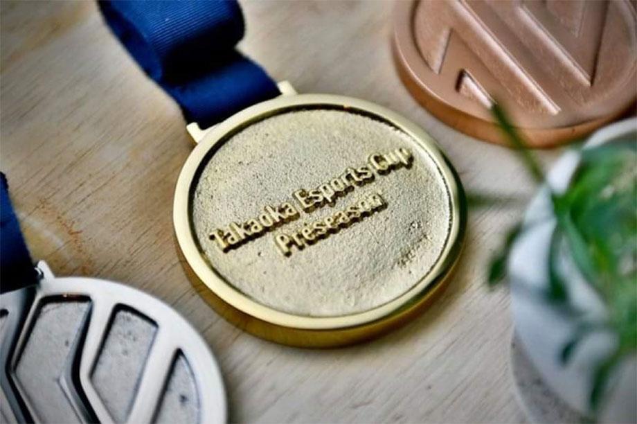 Takaoka Esports Cup 上位入賞記念メダルが完成!