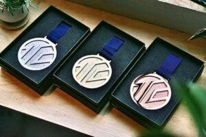 入賞メダル